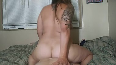 Ride his face then his cock