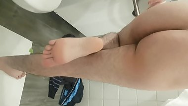 Twink boy feet & ass