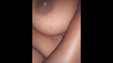 her juicy breast after we fucked