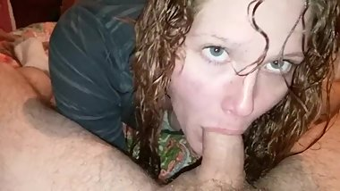 My crazy ex gf can't get enough of my hard cock .