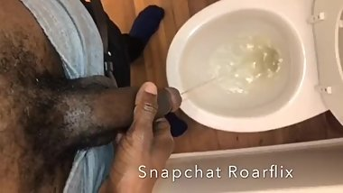 Hairy BBC Teen Piss Pig (Piss Play)
