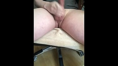 So horny jerking off