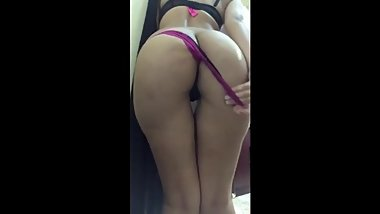 Saudi Arabia Cute Sexy Teen Dance Showing Big Ass and Black Pussy Part Two