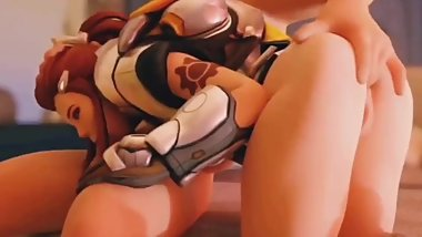 Brigitte Asshole Fingered While Sucking Dick