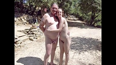 french nudist family