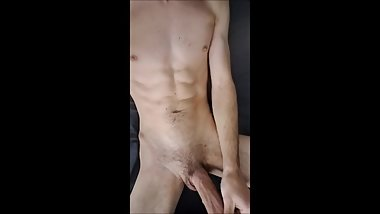 Young Thick Cock Almost Gets Caught Jacking Off!
