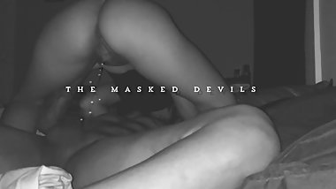 The Masked Devils: FARTING QUEEN Cooks l Fucks l SQUIRTS & Pee On His DICK!