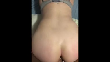 College girl gets fucked until she can't take it