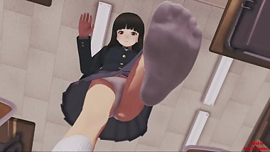 Ayami Little Game - Shrink,feet and Giantess