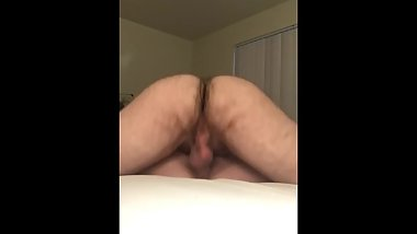 Military wife takes a creampie while husband is deployed