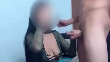naughty girl fucks in the anus with her husband and cries in pain