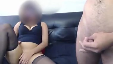 passionate slut fucks pussy and anal with her husband and tears anal