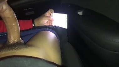Hung light skin dick gets sucked with cumshot
