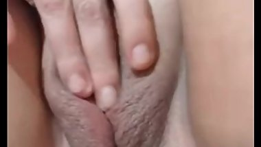 shaved pussy closeup 1 wifes friend