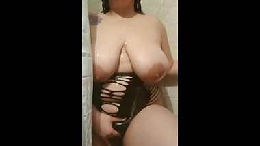 BBW CHUBBY TEEN SHOWER TEASE XXX
